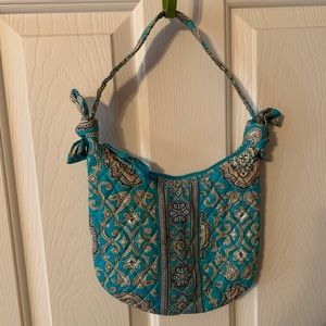 Vera Bradley Totally Turq purse